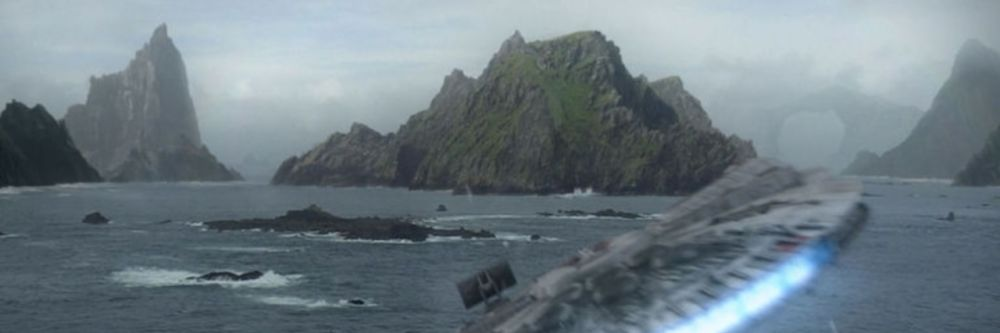 A view of puffins around the Skellig Islands in County Kerry. Parts of the Star Wars film 'The Force Awakens' was filmed on the island of Skellig Michael.