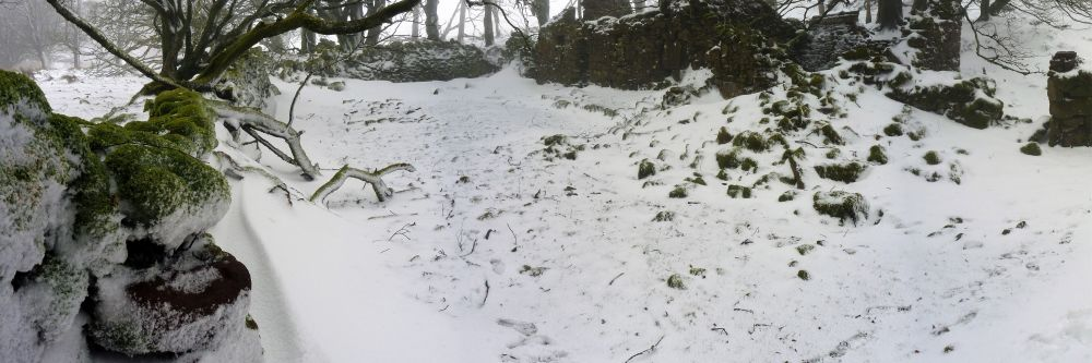 Snow in the Galtee Mountains