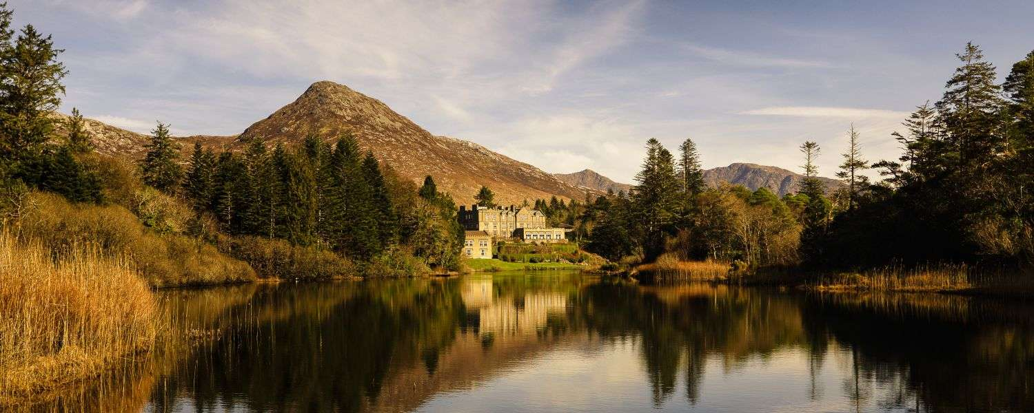 Ballynahinch Castle, where you can stay on our castle tours of Ireland